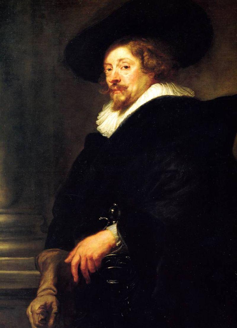 Rubens-autoportrait